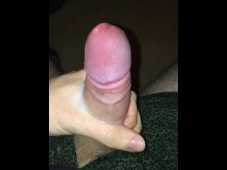 Milking My Big Boner And Cumming Hard