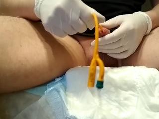 catheter diaper