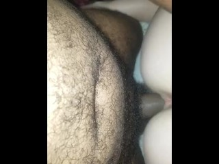 Wife getting down