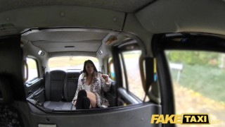 Taxi randy fucked candi milf by hard john sexy fake kayne of faketaxi