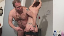 Double big toys penetration and cumshot with Cathy Crown Belgium Pornstar