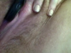 19yo Chubby amateur virgin uses vibrator on clit POV and orgasm 1st video:)