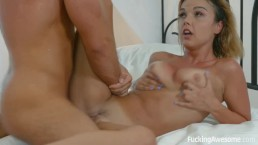 FuckingAwesome - Busty Dillion Harper Gets Fucked by Her Stepbrother