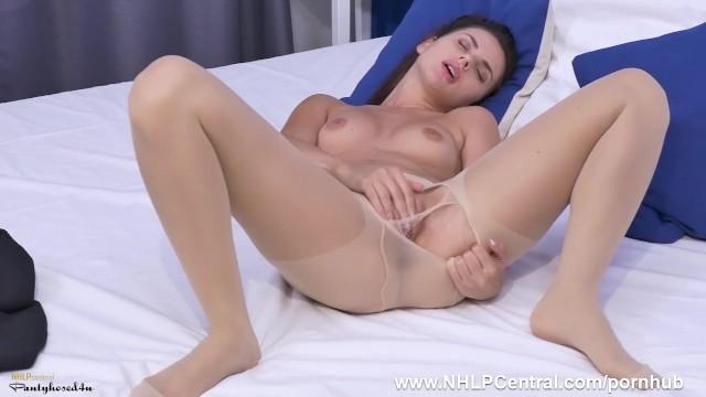 Jasmine meera nude Petite brunette jasmine jazz has erotic masturbation in her nude pantyhose