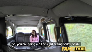 Fake Taxi American redheads tight asshole fucked by dirty driver Tight facial