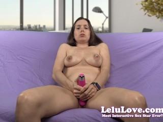 Lelu Love-Spit And Saliva Vibrator Masturbation