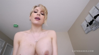 And pov banks morning fuck katie experience hard shower cum booty