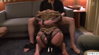 Extreme JAV bound free use blowjobs Minako Komukai Subtitled  bbw subtitled oral asian voluptuous blowjob zenra jav subtitles curvy japanese japan bondage group freeuse shibari