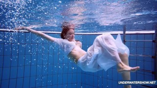 Amazing hairy underwatershow by Marketa Mofos orgasm