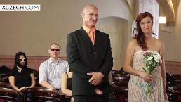 Czech porn wedding orgy - crazy group sex - XCZECH.com