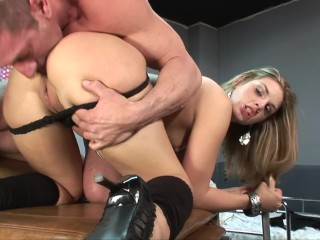 Teen Pussy No Hair Fucking, Slutty Blonde Gets Her ass Fucked In The Doctors Office Big ass Big Dick