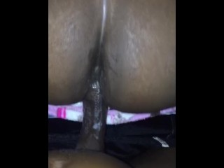 Fucking after busting a nut