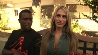 Preview 2 of Sarah Jessie in big black cock tag teaming threeway