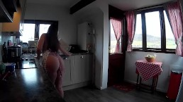 Little Abbie Big Butt Kitchen Tease Preview