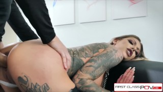 First Class POV - Watch Karma Rx take her mouth and pussy full of dick porno