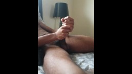 fem bbc top double fists his 8 inch dick