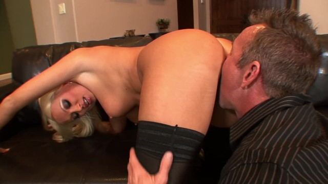 Horny Blonde Milf Diana Doll Bends Over For Pat Myne