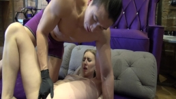 Beginners les: G-spot en squirting met Kenneth Play & Riley Reyes