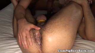 Assfucking in grey foursome wolf twinks bb missionary