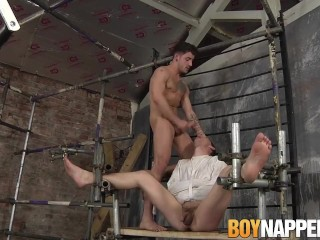 Youri Chevalier is tickled and tortured by mean Jack Taylor