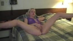 Aecymea Sanoet Pleasuring Herself