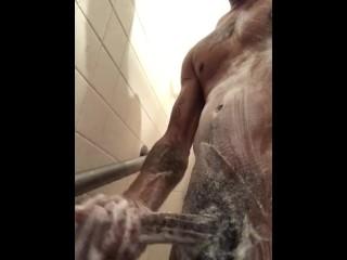 Hand job shower