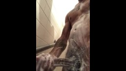 Hand job shower