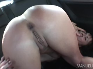 Cecilia Vega goes anal in a car with Manuel Ferrera then the hotel