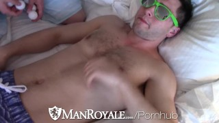 Out night vacation hotel threesome before manroyale kyle brandon