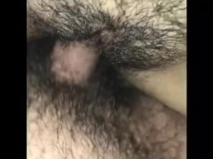 Quick fuck with neighbor in sisters room while she's out