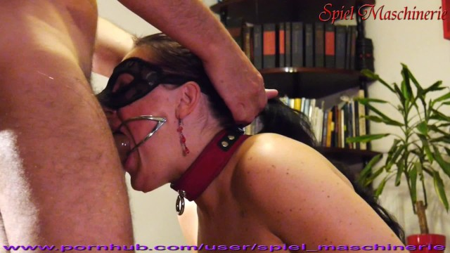 Ultimate blowjob video - Ultimate dental gag throat abusing of slut slave whore