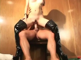 Action sex with luxury piece