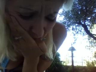 outdoor pee!
