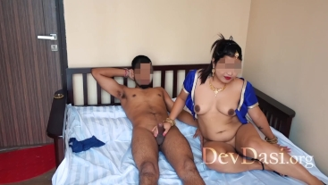 Very Hot Indian Wife Cheating & Hardcore Fucking With A Young Boy - DevDasi