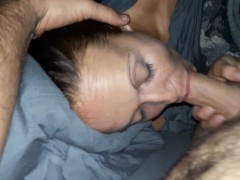 You're tired? I don't care, suck my dick. (Lazy Head)