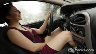 Yanks Minx Jenny Mace Masturbates Outdoors