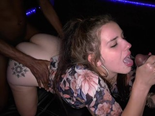 interesting story ending with interracial gangbang with blowjob. young woman with big ass.  @frogkiller