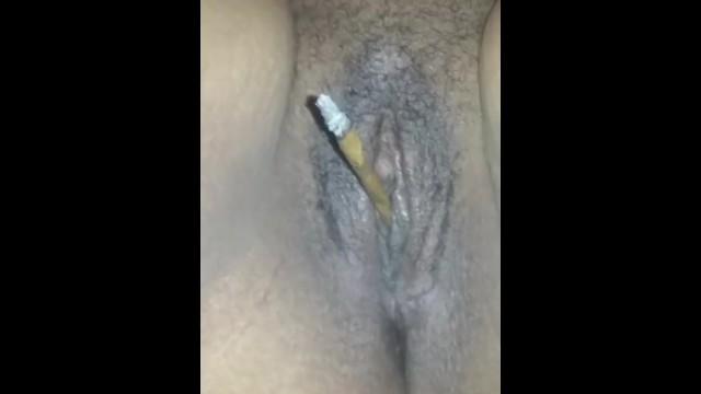 Pussy momey weed Four twenty 420 pussy smoking weed blunt