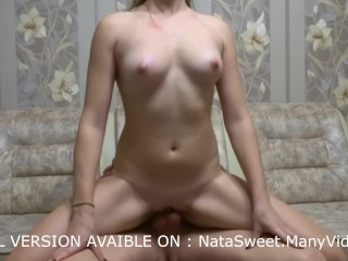 Fuck me and cum in pussy - creampie