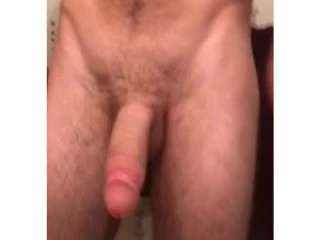 Tyler long playing with his big white cock