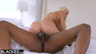 Teen stud blonde dominant experience with first black blacked doggystyle blacked
