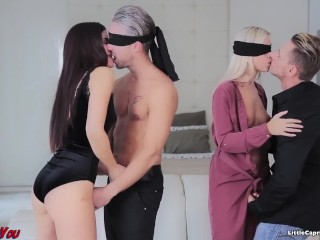 Swinger meeting - WeCumToYou Part3. - Little Caprice