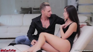 Swinger meeting - WeCumToYou Part3. - Little Caprice Teen first