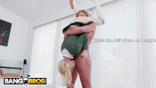 Jean handles marie elsa aggressively bangbros step teen mom phoenix mom small