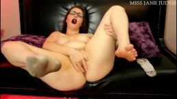 Dirty Socks, Feet, and Fingering Orgasms