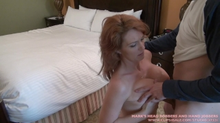 MILF with an attitude, Part 1 Blowjob tanlines