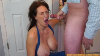 MILF with an attitude, part 4 Teasing outside