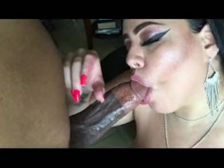BBW Saya gets a huge LOAD from BBC