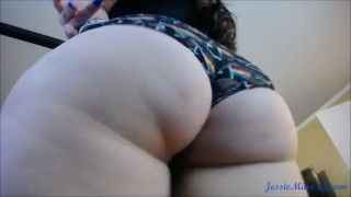Exotic bbw Miss Lingling gives a great sloppy Blowjob black