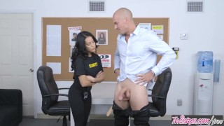 Security rain twistys cock girl finds dirty megan concealed petite cocksucking